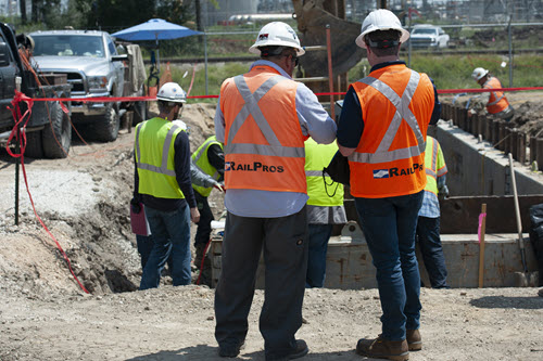 Construction Observation - RailPros Field Services