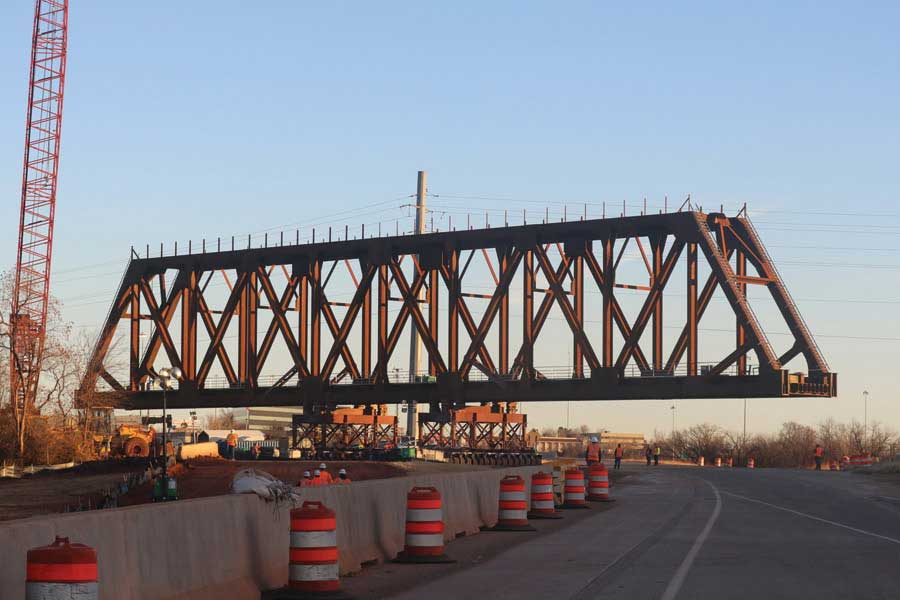 I-235 Oklahoma Dot Underpass Project - RailPros Projects