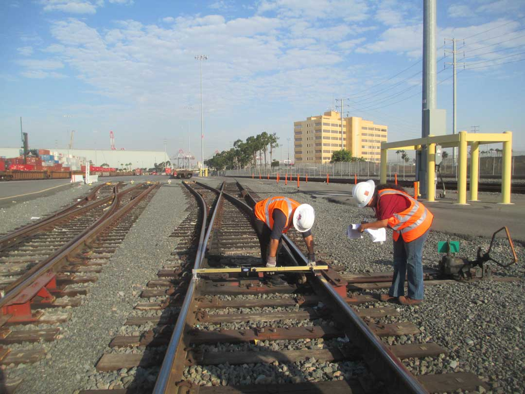 POLB Rail Inspection - RailPros Field Services